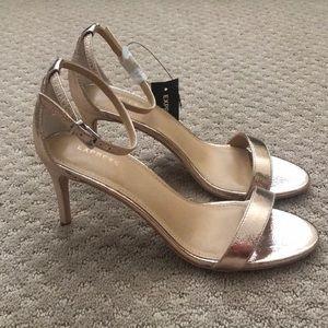 Rose Gold 3inch heels